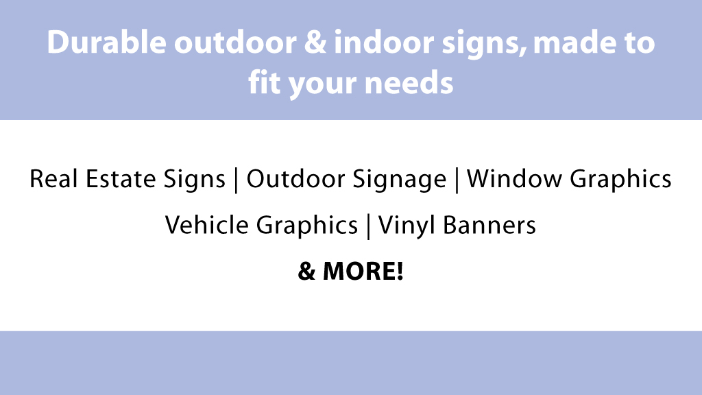 sv signs sign products